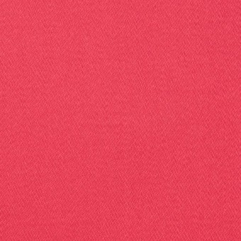 コットン&ポリノジック混×無地(カーネーション)×サテンストレッチ_全2色 サムネイル1