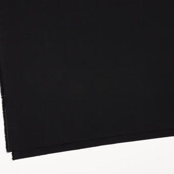 コットン×無地(ブラック)×二重織_イタリア製 サムネイル2