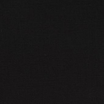 コットン×無地(ブラック)×二重織_イタリア製 サムネイル1