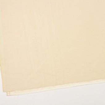 レーヨン&シルク×無地(クリームイエロー)×バックサテンシャンタン_イタリア製 サムネイル2
