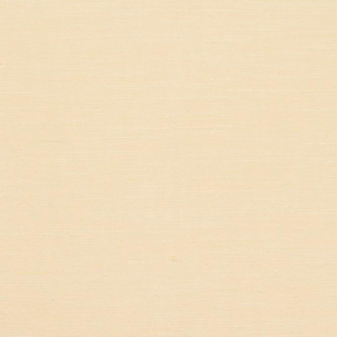 レーヨン&シルク×無地(クリームイエロー)×バックサテンシャンタン_イタリア製 イメージ1
