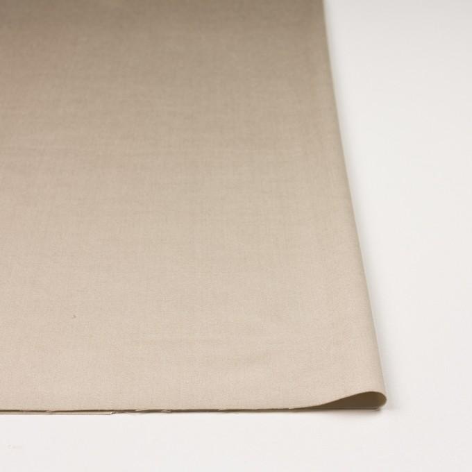 ビスコース&ポリエステル混×無地(シャンパンゴールド)×サテンストレッチ_イタリア製 イメージ3