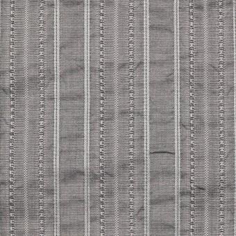 コットン&ポリエステル×ストライプ(シルバーグレー)×ジャガード サムネイル1