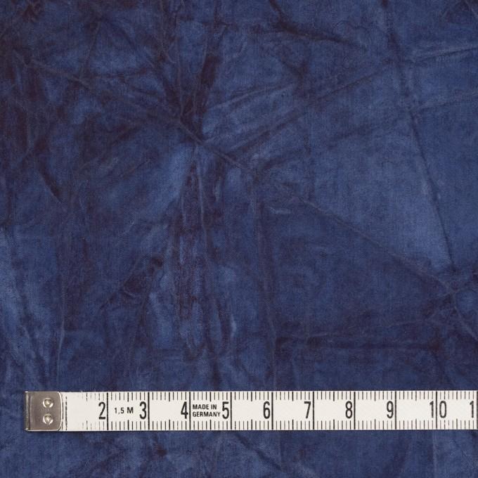 コットン&ポリエステル×グラデーション(ネイビー)×ブロードワッシャー イメージ4