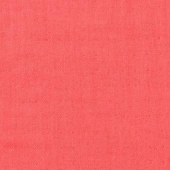 コットン×無地(コーラル)×トリプルガーゼ_全3色 サムネイル1