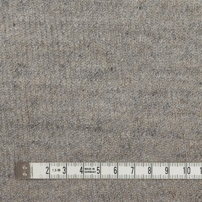 コットン&リネン×無地(グレー)×リブ&天竺ニット_全3色 イメージ4