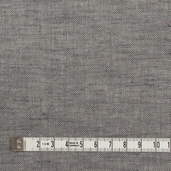 コットン&リネン×無地(アッシュグレー)×薄サージ サムネイル4