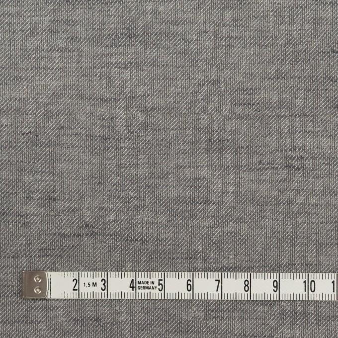 コットン&リネン×無地(アッシュグレー)×薄サージ イメージ4