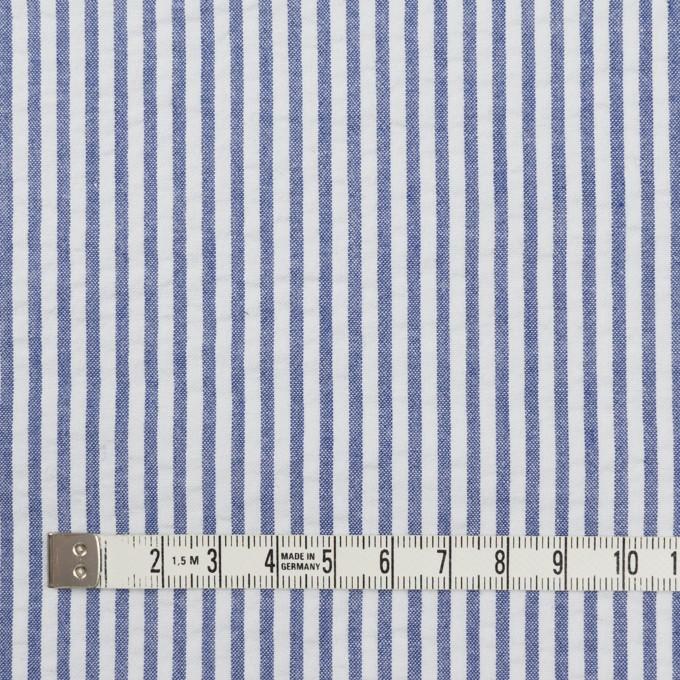コットン×ストライプ(ブルー)×サッカー_全2色 イメージ4