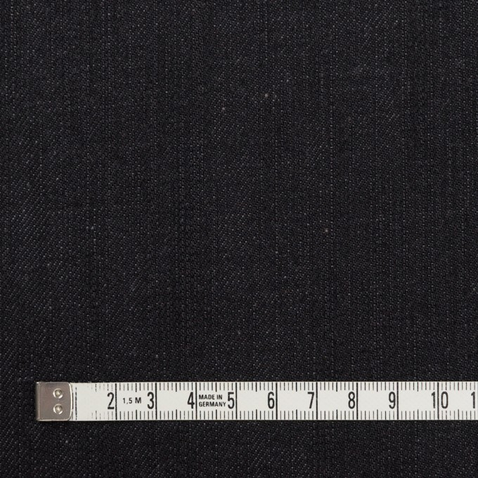 コットン×無地(チャコールブラック)×デニム(12oz) イメージ4