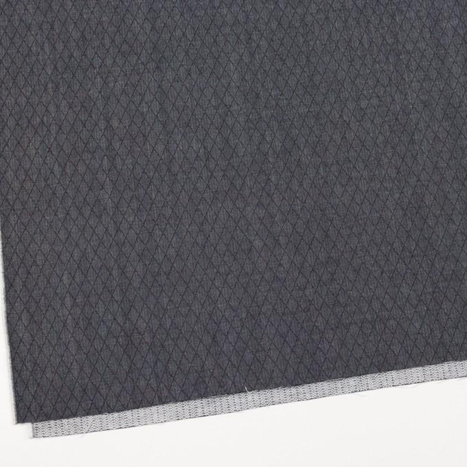 コットン×ダイヤ(インディゴ)×二重織 イメージ2