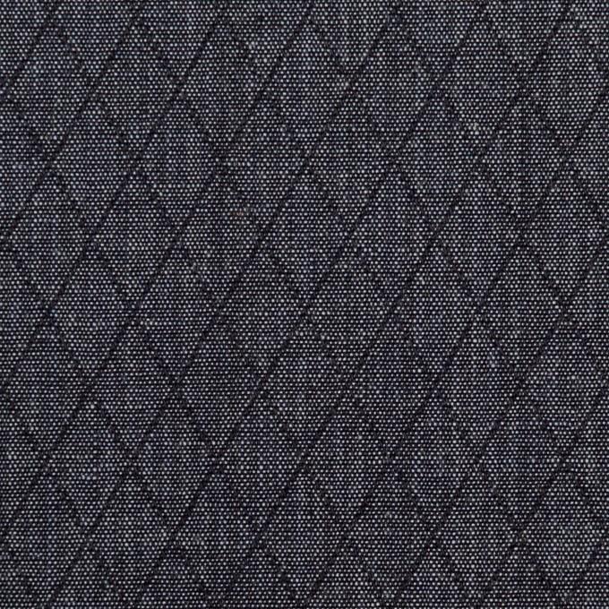 コットン×ダイヤ(インディゴ)×二重織 イメージ1