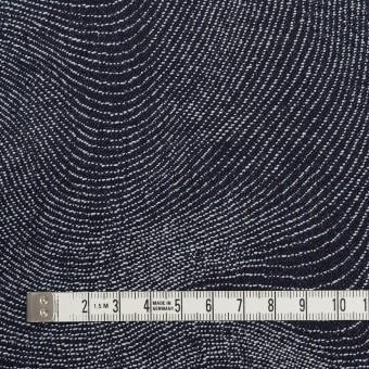 コットン×幾何学模様(インディゴ)×デニムジャガード(10.5oz) サムネイル4