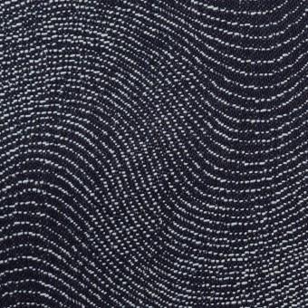 コットン×幾何学模様(インディゴ)×デニムジャガード(10.5oz) サムネイル1