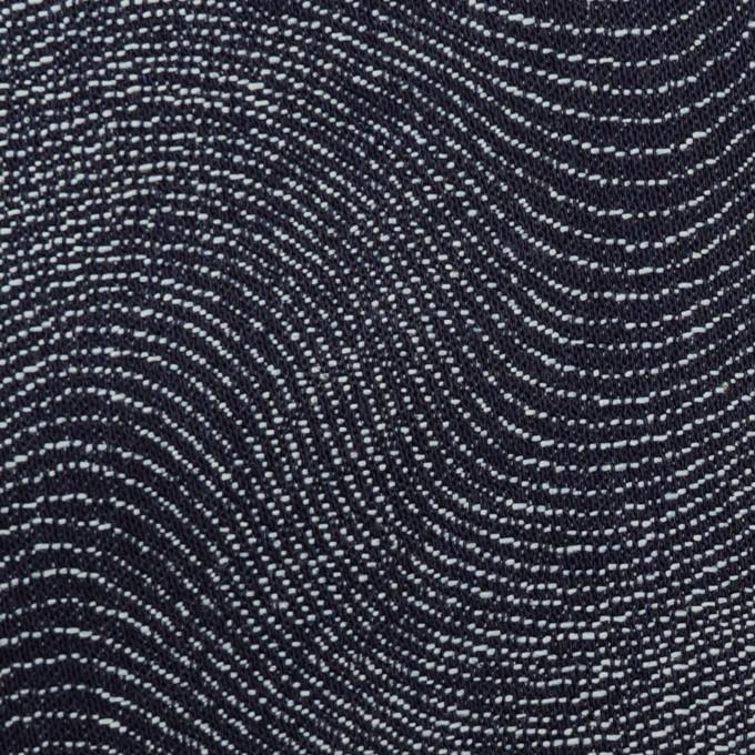 コットン×幾何学模様(インディゴ)×デニムジャガード(10.5oz) イメージ1