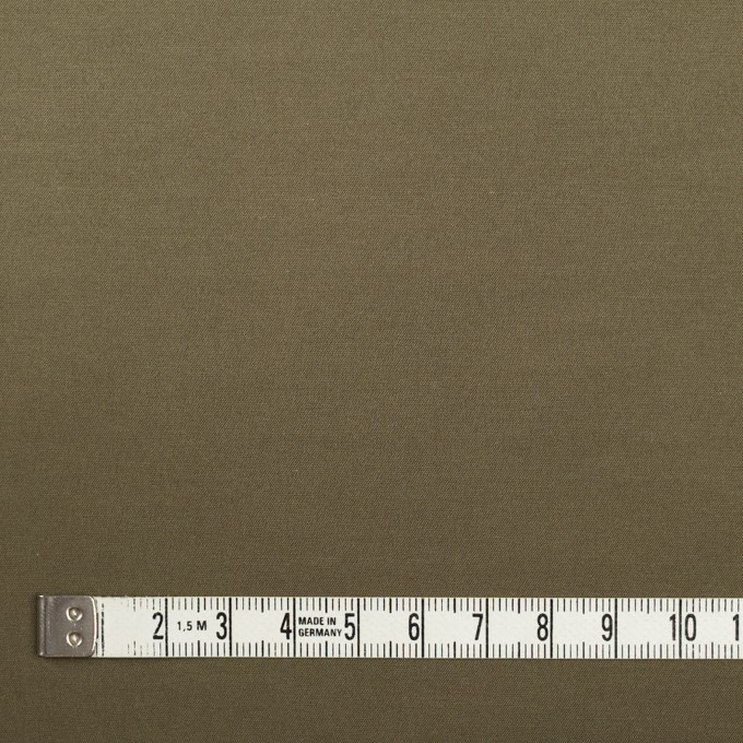 ポリエステル×無地(カーキ)×サテン イメージ4