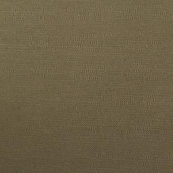 ポリエステル×無地(カーキ)×サテン サムネイル1