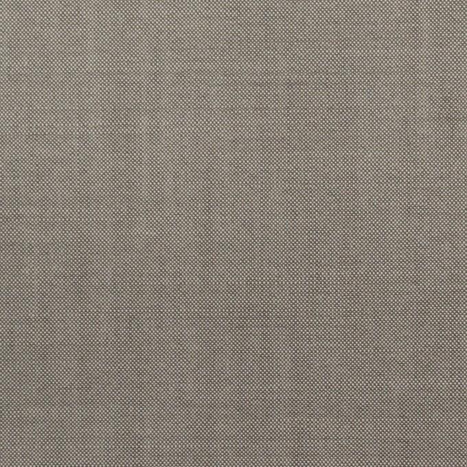 ウール×無地(グレー)×ポプリン_イタリア製 イメージ1