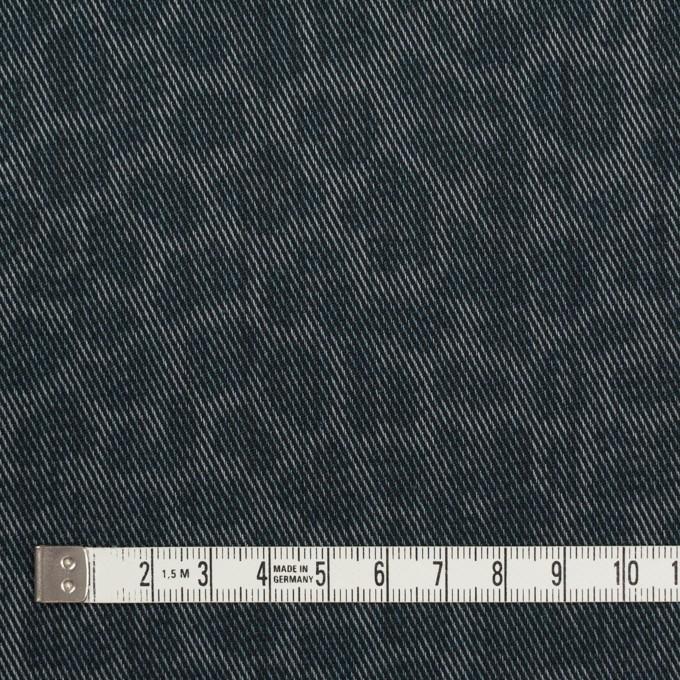 コットン&ポリエステル×レオパード(スチールグレー)×チノクロス イメージ4