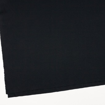 コットン&モダール×無地(ブルーブラック)×スムースニット サムネイル2