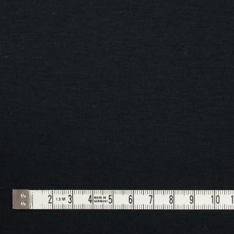 コットン&モダール×無地(ブルーブラック)×スムースニット サムネイル4