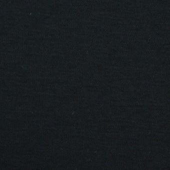 コットン&モダール×無地(ブルーブラック)×スムースニット サムネイル1