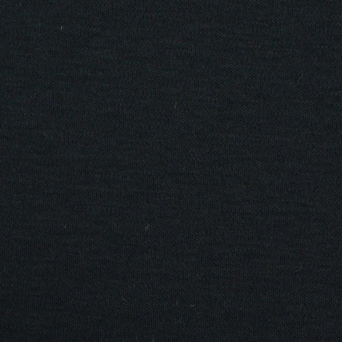 コットン&モダール×無地(ブルーブラック)×スムースニット イメージ1