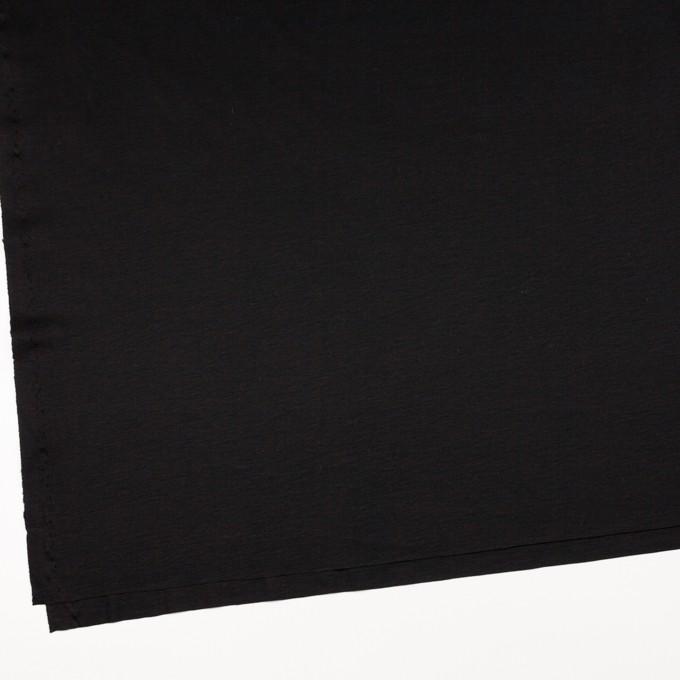 コットン&モダール×無地(ブラック)×スムースニット イメージ2