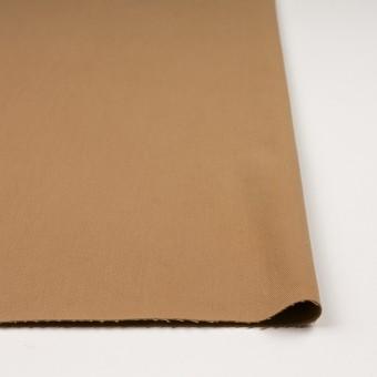 コットン&ポリウレタン×無地(シナモン)×サージストレッチ_全2色_イタリア製 サムネイル3