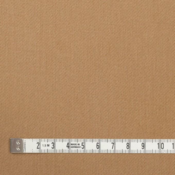 コットン&ポリウレタン×無地(シナモン)×サージストレッチ_全2色_イタリア製 イメージ4