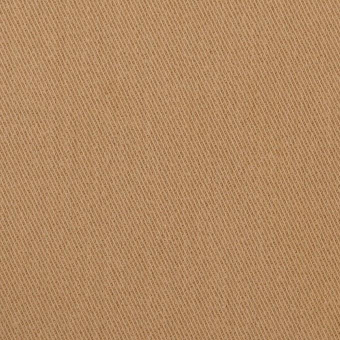 コットン&ポリウレタン×無地(シナモン)×サージストレッチ_全2色_イタリア製 イメージ1