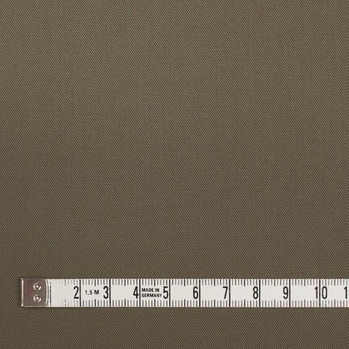 コットン&ポリウレタン×無地(カーキグリーン)×ギャバジンストレッチ_イタリア製 イメージ4