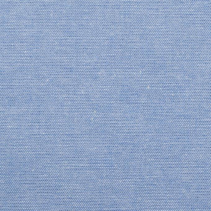 コットン×無地(サックス)×ダンガリー_全3色 イメージ1