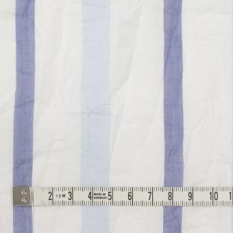 コットン×ストライプ(ペールブルー&ネイビー)×ボイルワッシャー サムネイル4