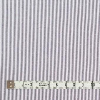 コットン×ストライプ(グレイッシュラベンダー)×コードレーン_全2色 サムネイル4