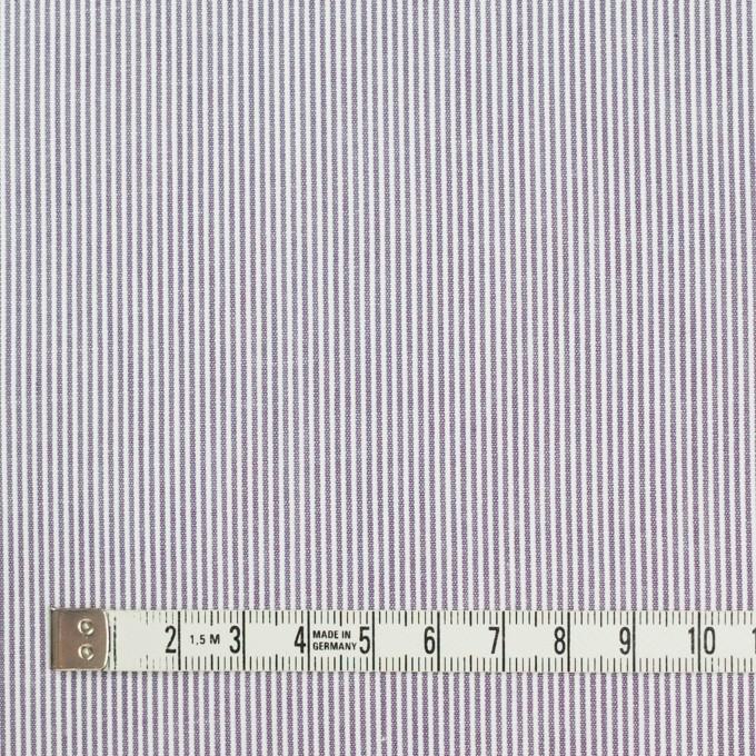 コットン×ストライプ(グレイッシュラベンダー)×コードレーン_全2色 イメージ4