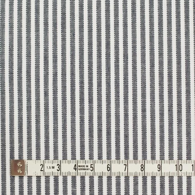 コットン×ストライプ(グレー)×コードレーン イメージ4