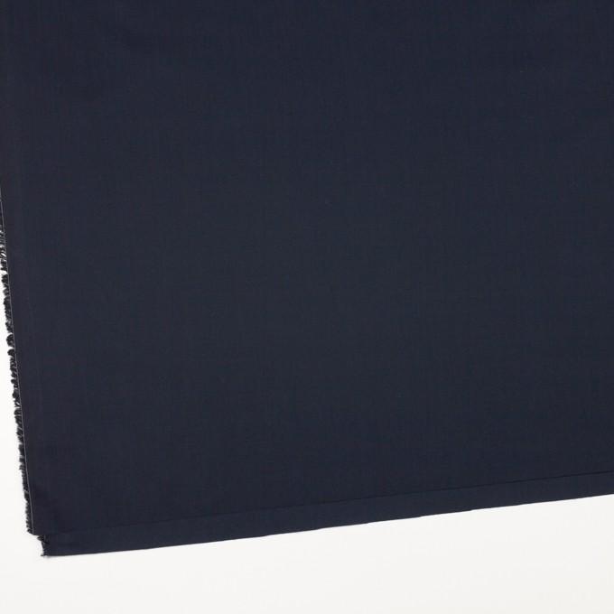 コットン×無地(ダークネイビー)×ローン イメージ2