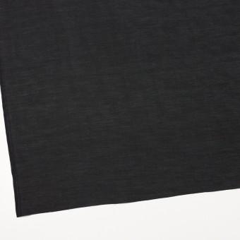 コットン&キュプラ×無地(ブラック)×ローン サムネイル2