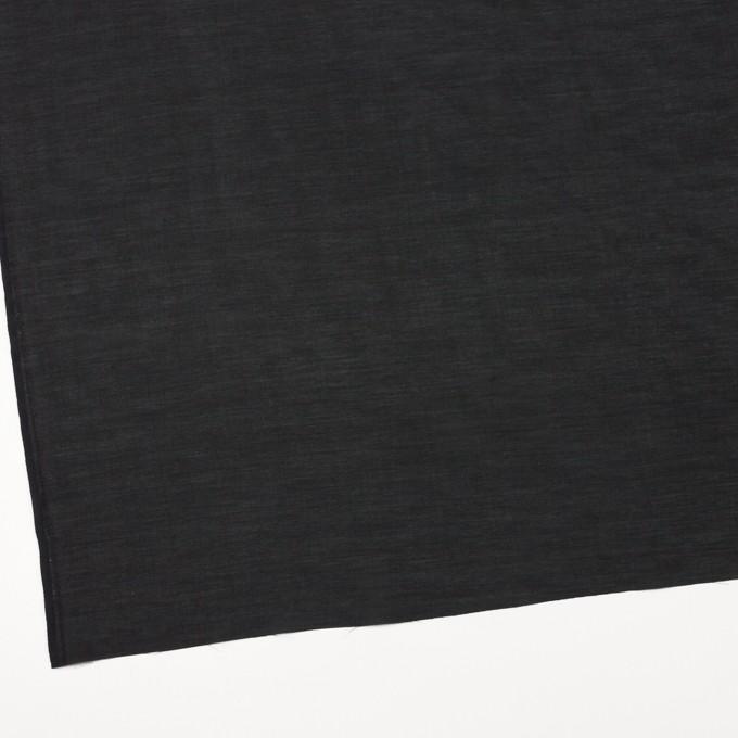 コットン&キュプラ×無地(ブラック)×ローン イメージ2