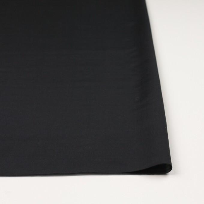 コットン&キュプラ×無地(ブラック)×ローン イメージ3