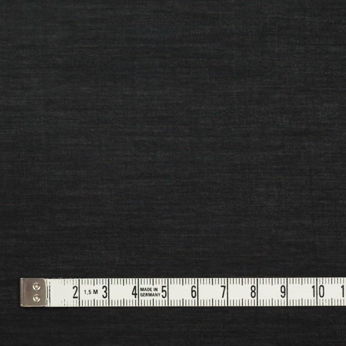 コットン&キュプラ×無地(ブラック)×ローン イメージ4