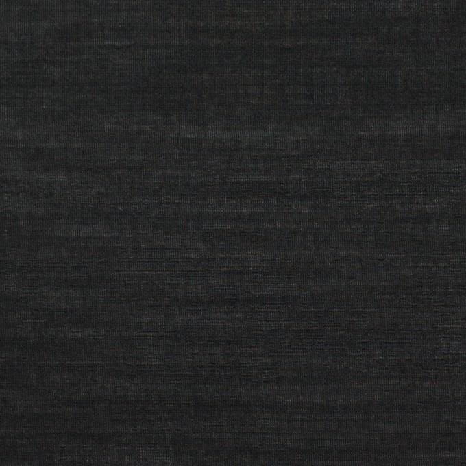 コットン&キュプラ×無地(ブラック)×ローン イメージ1