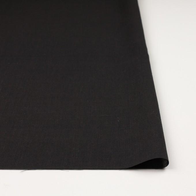 コットン×無地(チャコールブラック)×ボイル イメージ3