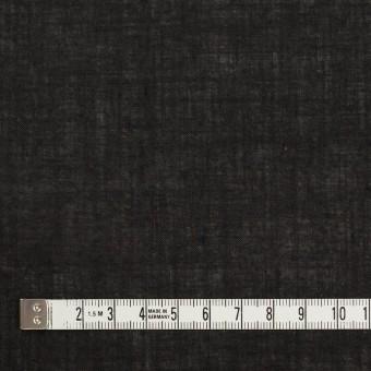 コットン×無地(チャコールブラック)×ボイル サムネイル4