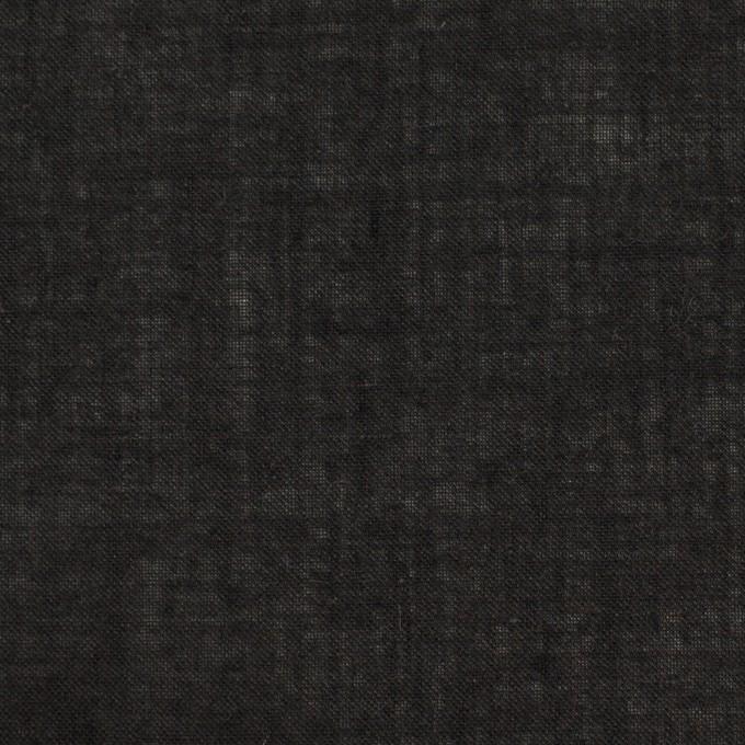 コットン×無地(チャコールブラック)×ボイル イメージ1