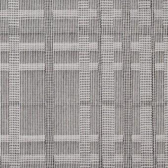 コットン×幾何学模様(チャコールグレー)×ジャガード サムネイル1
