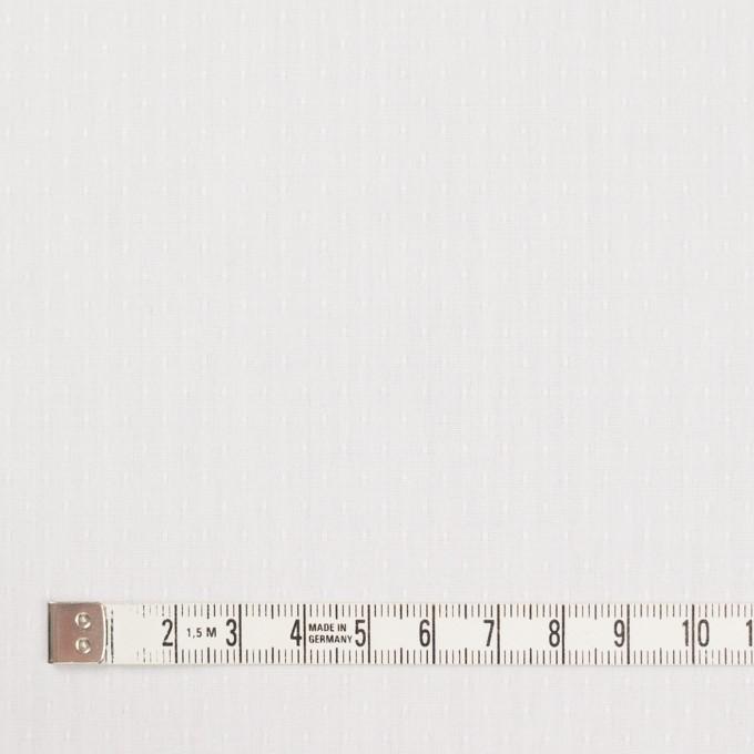 コットン×ドット(ホワイト)×ブロードジャガード イメージ4