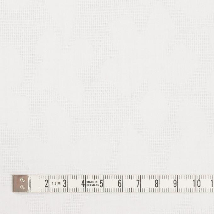 コットン×幾何学模様(オフホワイト)×蜂巣織&サテンジャガード イメージ4