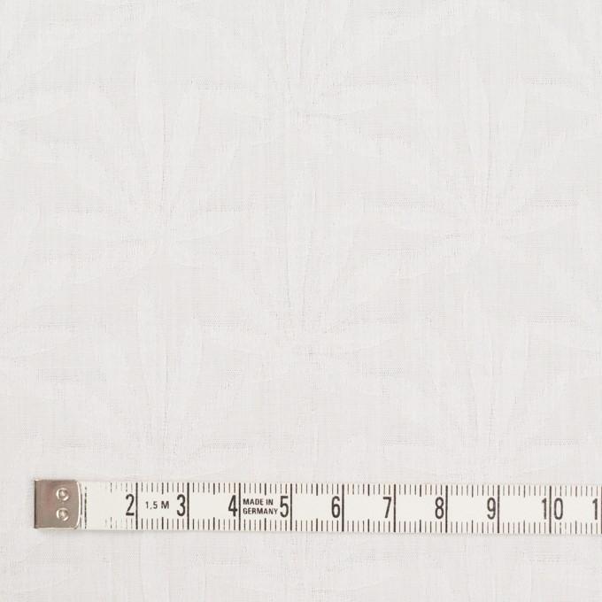 コットン×幾何学模様(ダルホワイト)×ブロードジャガード イメージ4